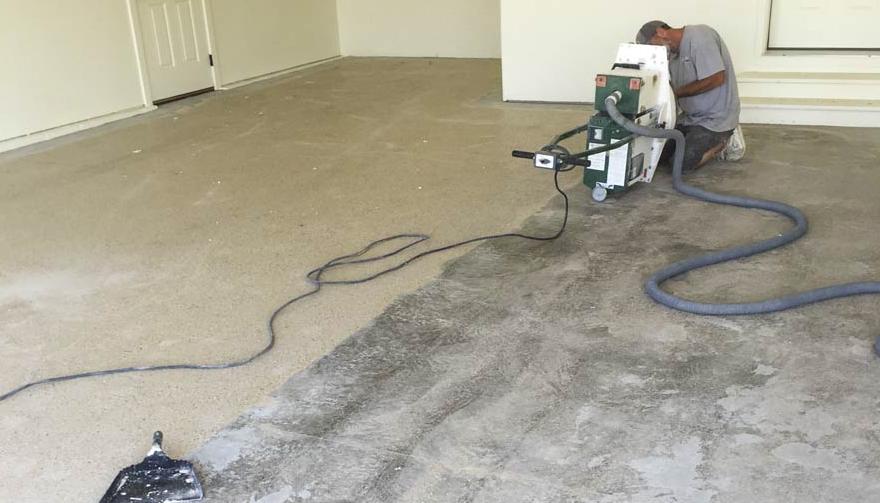 garage floor restoration